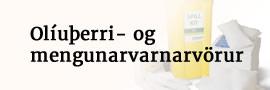 Olíuþerri- og mengunarvarnarvörur